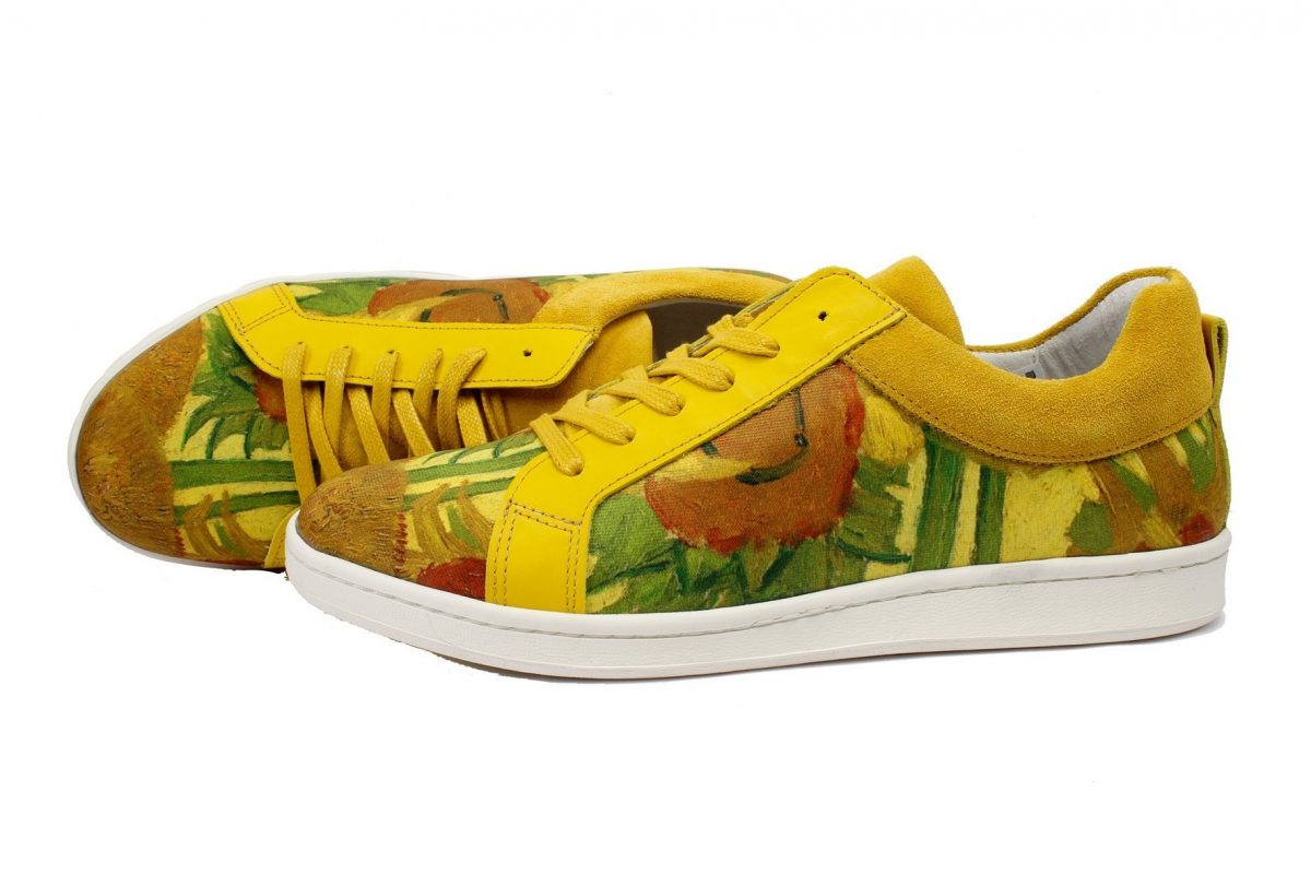 van gogh sunflower sneaker van linkkens